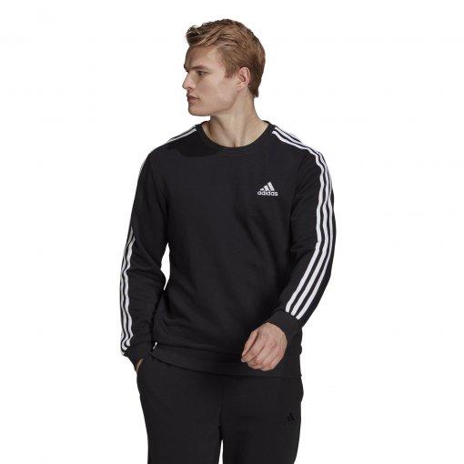 Blusão Moletom Adidas Essentials 3-Stripes Masculino