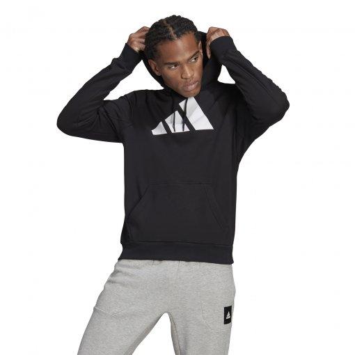 Blusão Moletom Adidas Logo Masculino