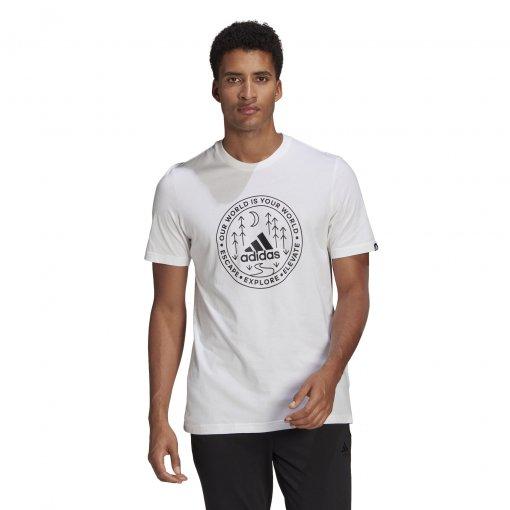 Camiseta Adidas Explore Nature Masculino