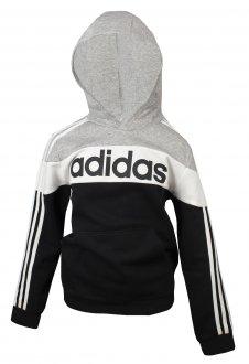 Imagem - Blusão Moletom Adidas Linear Infantil  cód: 055772