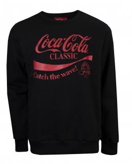 Imagem - Blusão Moletom Coca Cola Estampado Masculino cód: 051022