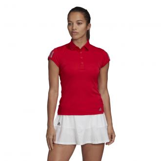 Imagem - Camisa Polo Adidas Poliéster Club 3 Str Feminina cód: 058446