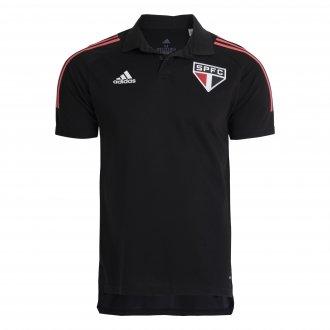 Imagem - Camisa Polo Adidas São Paulo Masculina cód: 060407