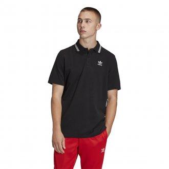 Imagem - Camisa Polo Pique Adidas Masculina cód: 056010