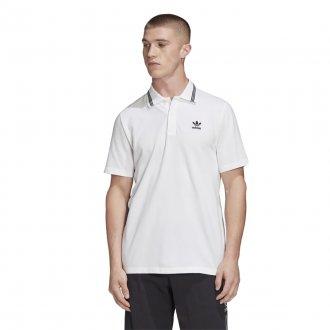 Imagem - Camisa Polo Pique Adidas Masculina cód: 055721