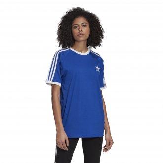 Imagem - Camiseta Adidas Algodão 3 Stripes Feminina cód: 058675