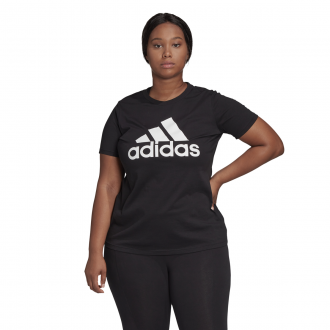Imagem - Camiseta Adidas Algodão Must Haves Badge Of Sport Feminina cód: 058539