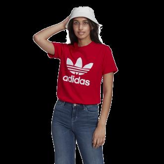Imagem - Camiseta Adidas Algodão Trefoil Feminina cód: 059812