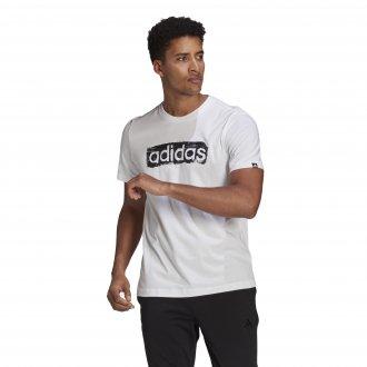 Imagem - Camiseta Adidas Estampada Linear Masculina cód: 060516