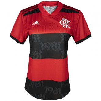 Imagem - Camiseta Adidas Flamengo 1 Feminina cód: 060636