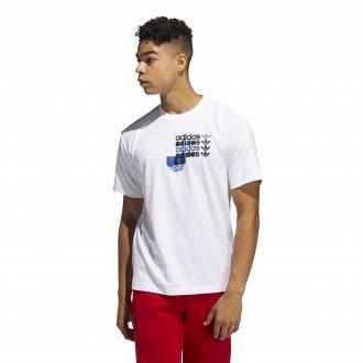 Imagem - Camiseta Adidas Fórum White Masculina  cód: 060870