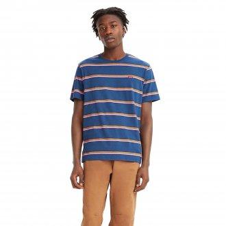 Imagem - Camiseta Levis Algodão Listrada Masculina cód: 059608