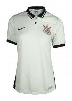 Imagem - Camiseta Nike Poliéster Corinthians 2 Feminina cód: 059090