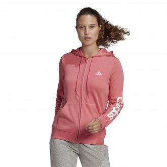 Imagem - Jaqueta Moletom Adidas Com Capuz Essentials Logo  Feminina cód: 059950