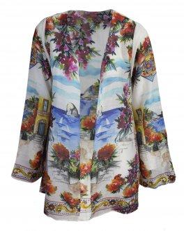 Imagem - Kimono New Beach Lori Vila Positano Feminino cód: 052095
