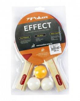 Imagem - Kit Poker Tênis De Mesa Effect cód: 040703