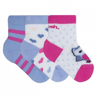 Imagem - Meia Mash Kit 3 Pack Baby cód: 059199