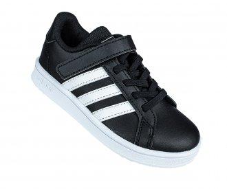 Imagem - Tênis Casual Adidas Grand Court C Infantil cód: 058740