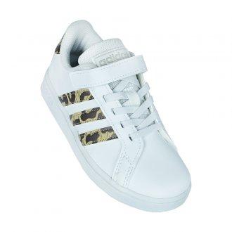 Imagem - Tênis Casual Adidas Grand Court Infantil cód: 060197