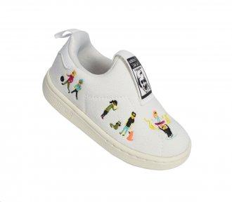Imagem - Tênis Casual Adidas Stan Smith 360 Kids cód: 053779
