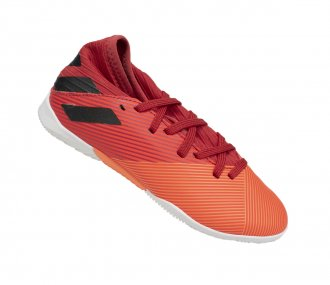Imagem - Tênis Futsal Adidas Nemeziz 19. Juvenil cód: 058404