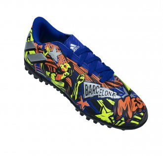 Imagem - Tênis Suíço Adidas Nemeziz Messi 19.4 Juvenil cód: 058384