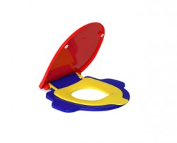 Imagem - API.165.AVA.15 - Assento Plástico Studio Kids Colorido - DECA cód: 7894202005344-API.165.AVA.15