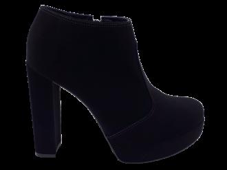 Imagem - Bota Feminina Bebecê Ankle Boot Nobuck T9621-056 - 271955