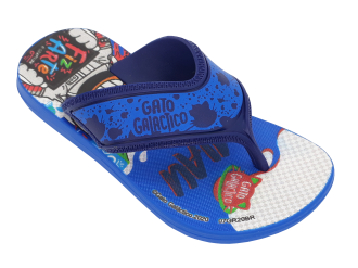 Imagem - Chinelo Infantil Grendene Menino Gato Galactico Miau 22461 - 273338