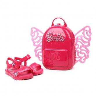 Imagem - Sandália Infantil Grendene Menina Barbie Butterfly com Mochila 22370 - 274418