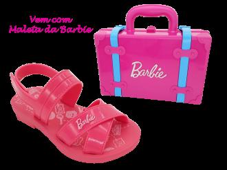 Imagem - Sandália Infantil Grendene Menina Barbie com Maleta - 268553