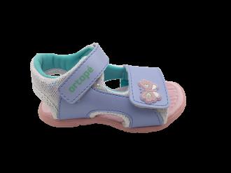 Imagem - Sandália Infantil Ortope Menina Brincadeira Baby Borboleta Ref 237050 - 267375