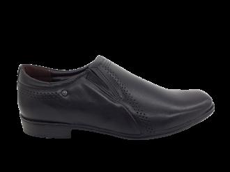 Imagem - Sapato Masculino Pegada em Couro Preto 122314-01 - 238042