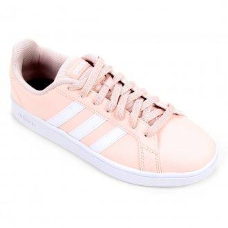 Imagem - Tênis Feminino Adidas Grand Court Base FW0809 Casual - 275174