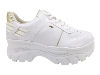 Imagem - Tênis Feminino Dakota G2502 Street Sneakers Branco - 270554