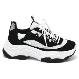 Imagem - Tênis Feminino Via Marte Chunky Dad Sneaker 20-10821 - 273749