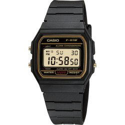 RELOGIO CASIO DIGITAL F-91WG-9QDF