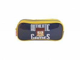 Imagem - Estojo Infantil Authentic Games Sestini 065573- 00 Azul cód: 10000029065573-0010000288