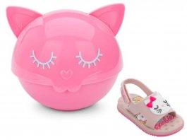 Imagem - Sandalia Infantil Barbie Fashion 22150 cód: 6952215021819019017