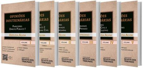 Coleção Opiniões Doutrinarias - 6 v.