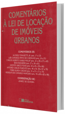 Comentários à Lei de Locação de Imóveis Urbanos