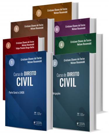 Curso De Direito Civil - 7 volumes 2021