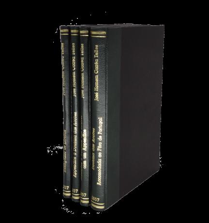 Doutrina das Acções - 4 livros