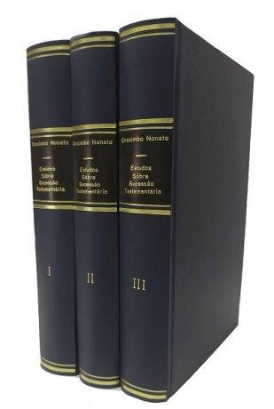 Estudos Sôbre Sucessão Testamentária 3 v.