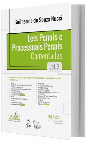 Leis Penais e Processuais Penais Comentadas - V. 2