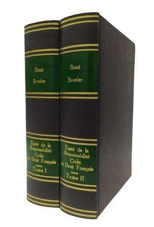 Traité de la Responsabilité Civile em Droit Français 2 Tomos