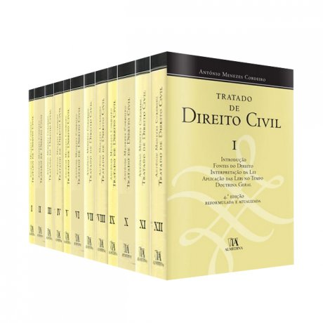 Tratado de Direito Civil 12 volumes