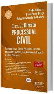Imagem -  Curso de Direito Processual Civil Vol 2