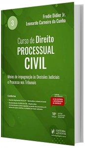 Imagem -  Curso de Direito Processual Civil Vol 3