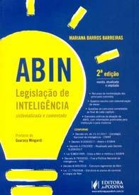 Imagem - Abin Legislação de Inteligência Sistematizada e Comentada